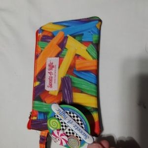 Sweetz -A-Riffic Candy wristlet clutch NWT